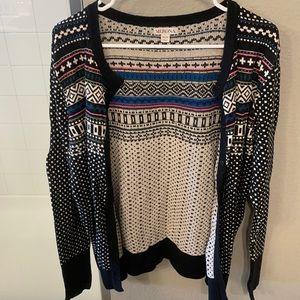 🌻 3/$35 Patterned Merona Sweater